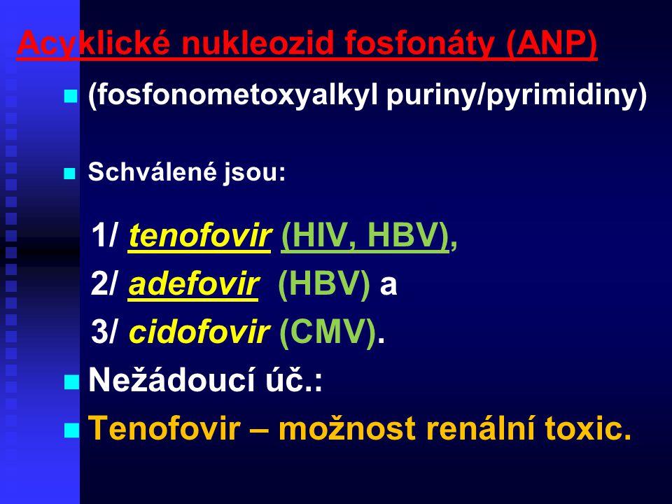 Acyklické nukleozid fosfonáty (ANP)