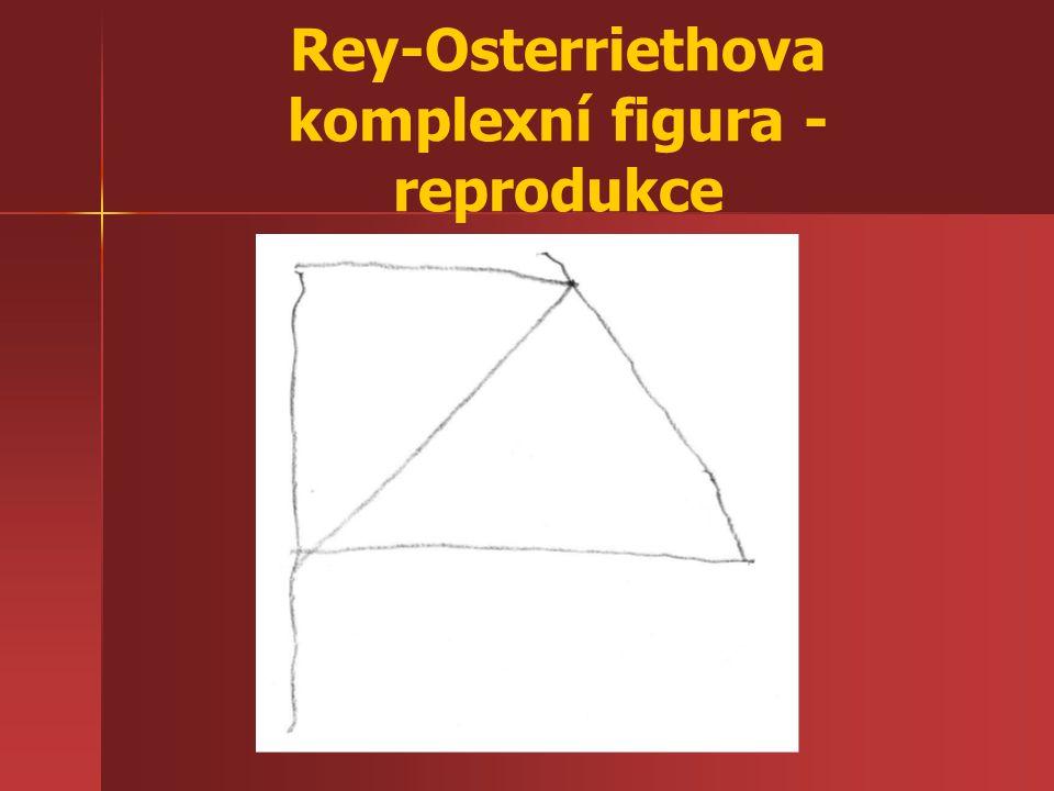 Rey-Osterriethova komplexní figura - reprodukce