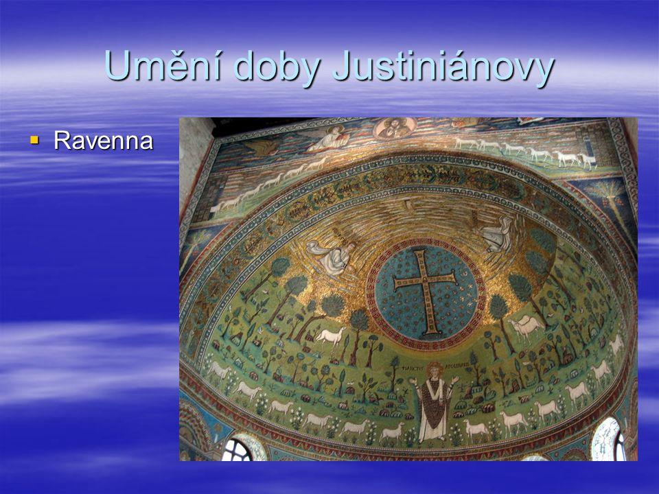 Umění doby Justiniánovy