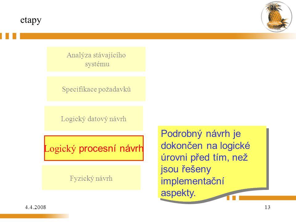 Logický procesní návrh