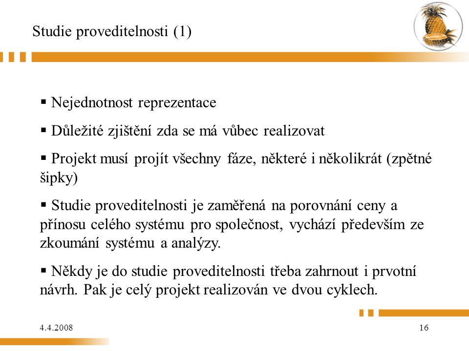 Studie proveditelnosti (1)