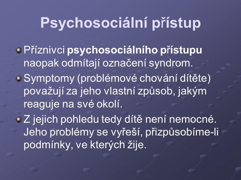 Psychosociální přístup