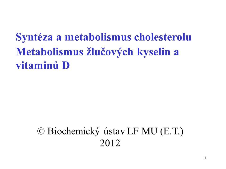  Biochemický ústav LF MU (E.T.) 2012