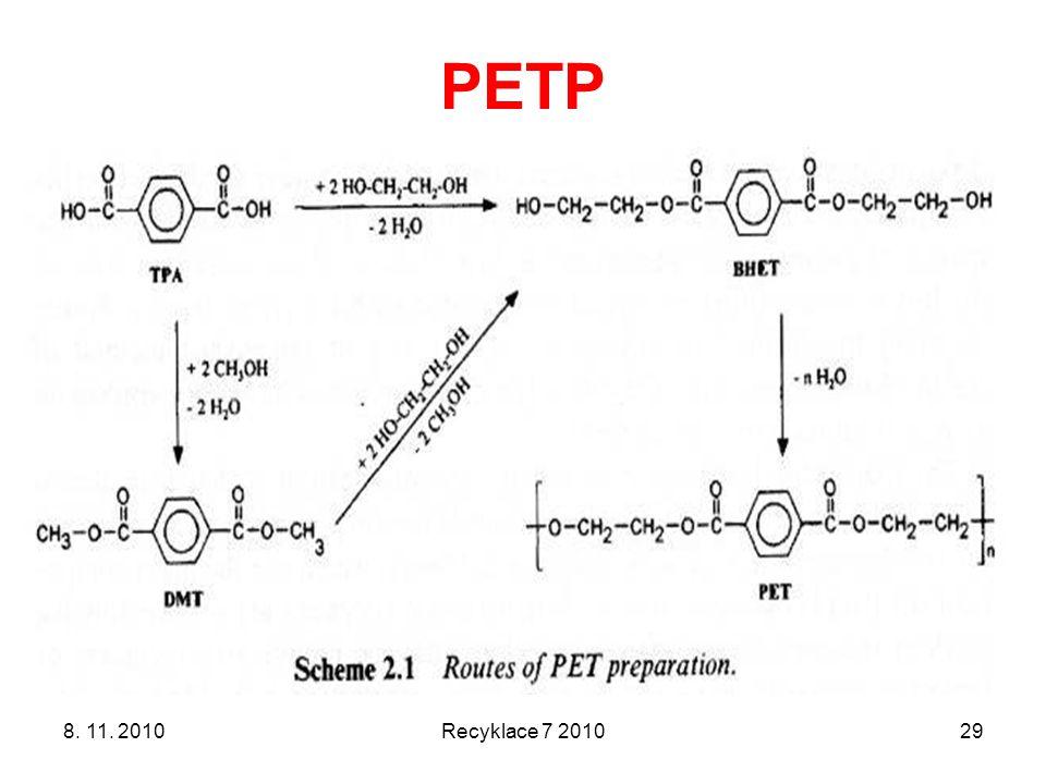 PETP 8. 11. 2010 Recyklace 7 2010