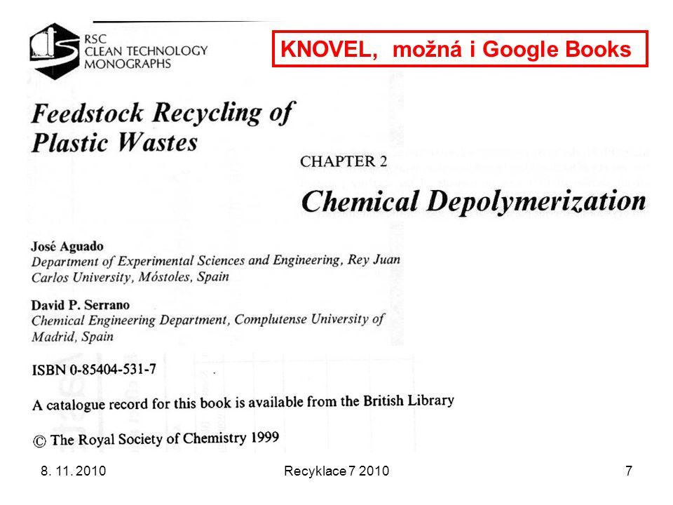 KNOVEL, možná i Google Books