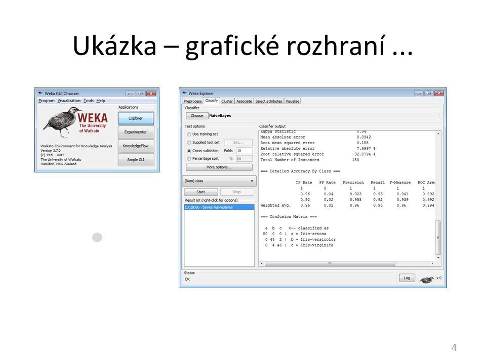 Ukázka – grafické rozhraní ...