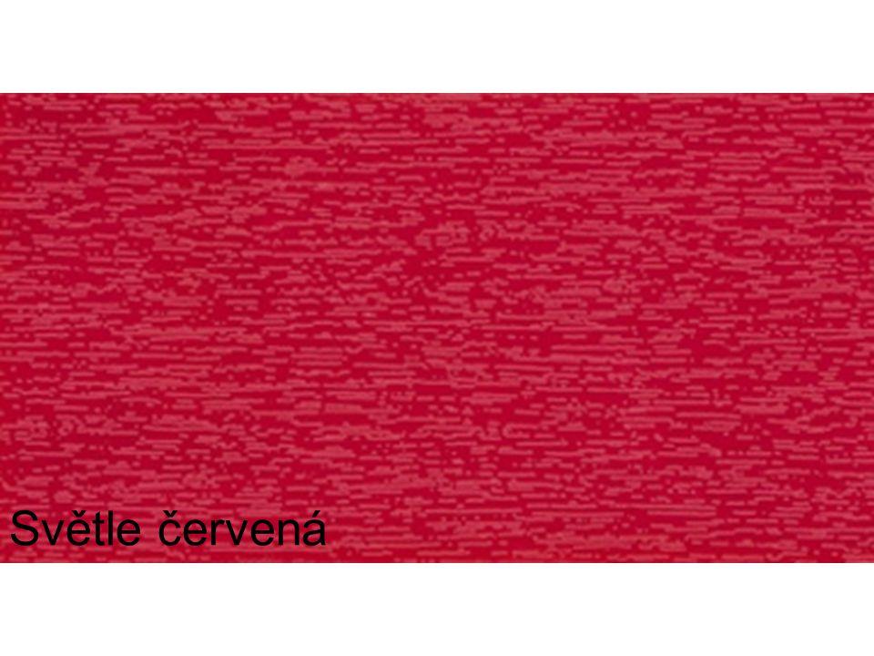 Světle červená