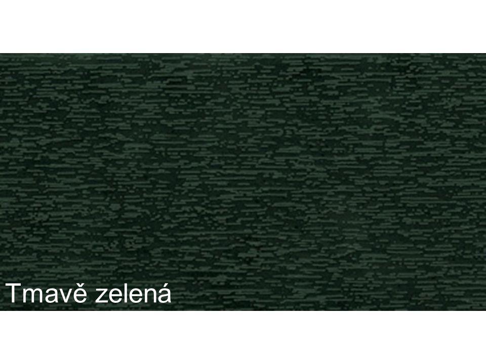 Tmavě zelená