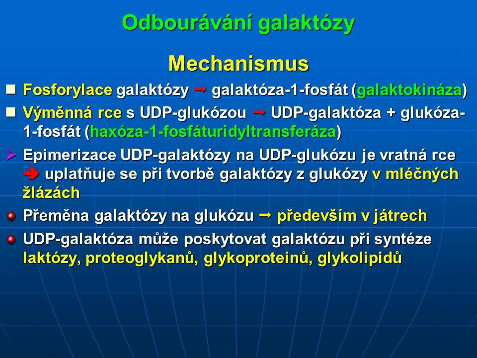 Odbourávání galaktózy