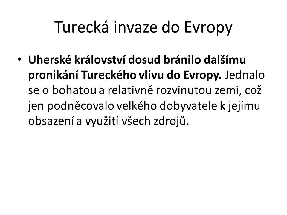 Turecká invaze do Evropy