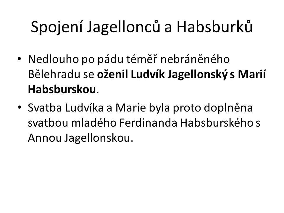 Spojení Jagellonců a Habsburků