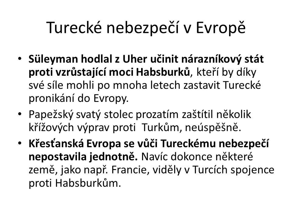 Turecké nebezpečí v Evropě