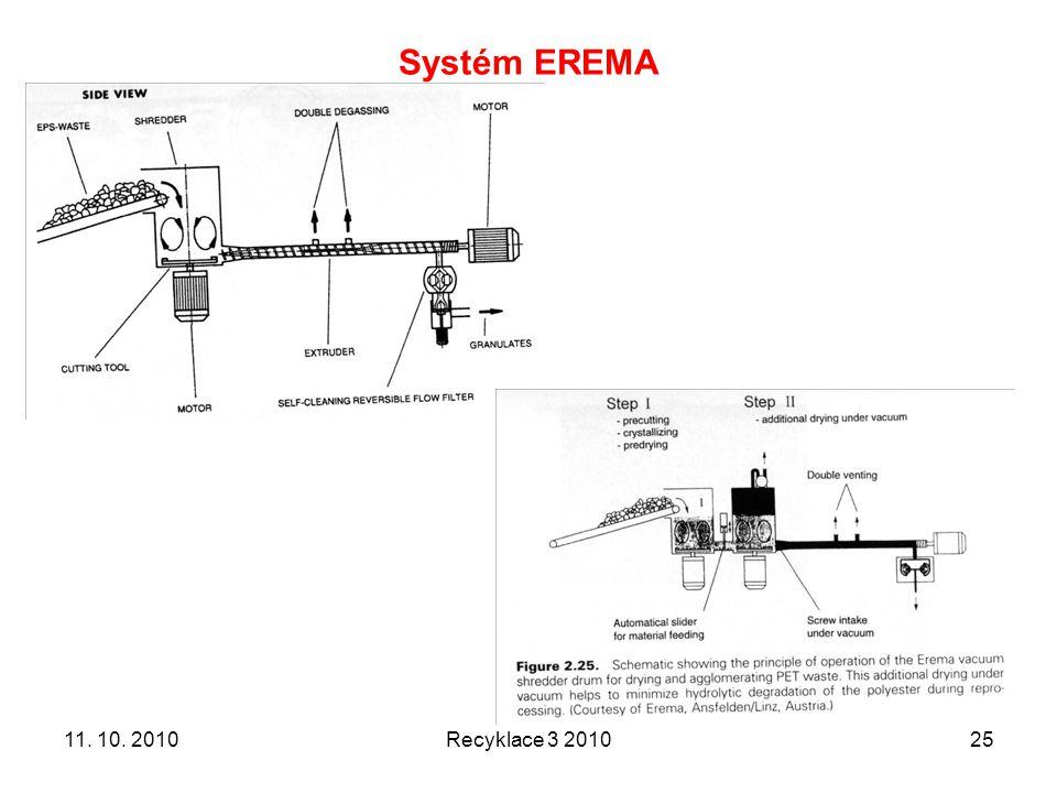 Systém EREMA 11. 10. 2010 Recyklace 3 2010