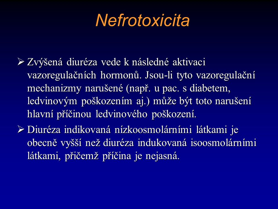 Nefrotoxicita