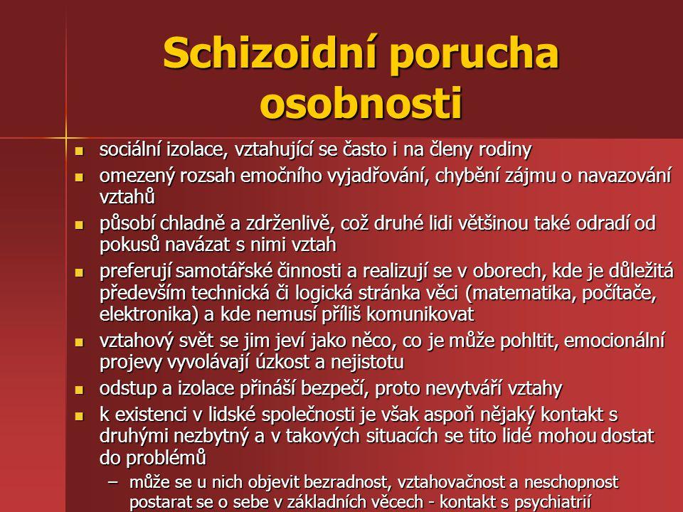 Schizoidní porucha osobnosti