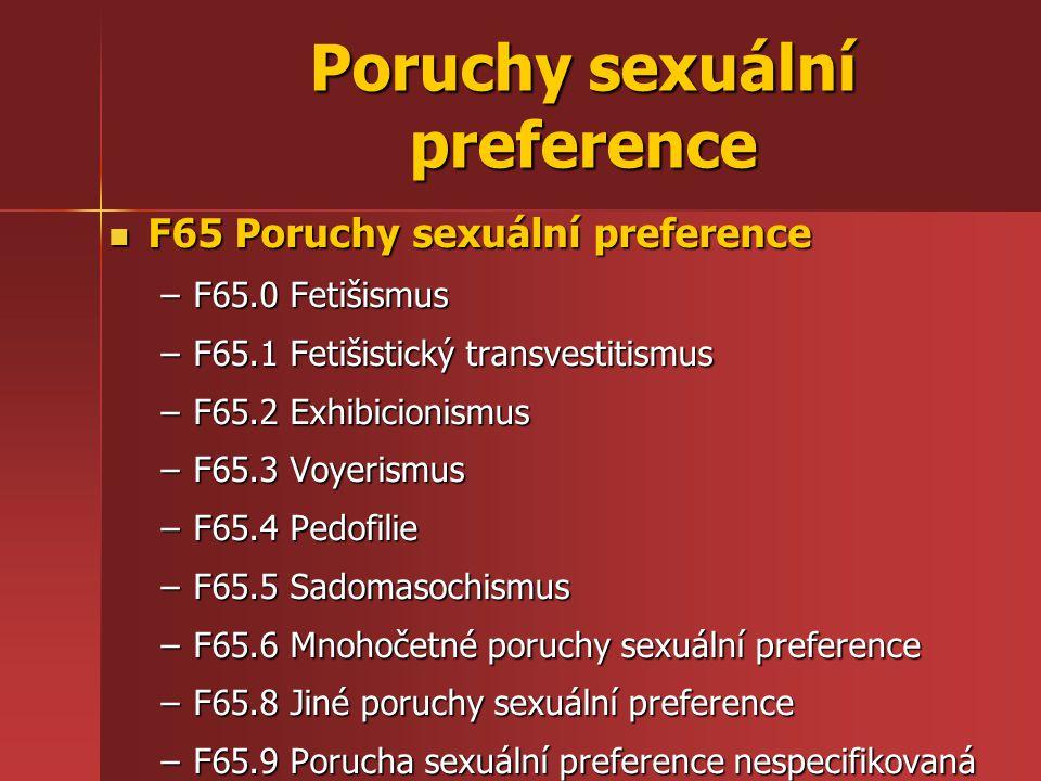 Poruchy sexuální preference