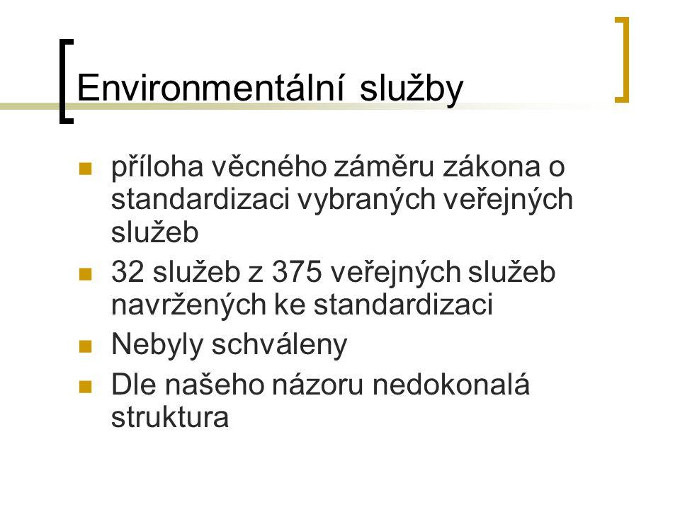 Environmentální služby