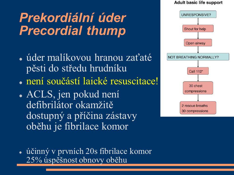 Prekordiální úder Precordial thump