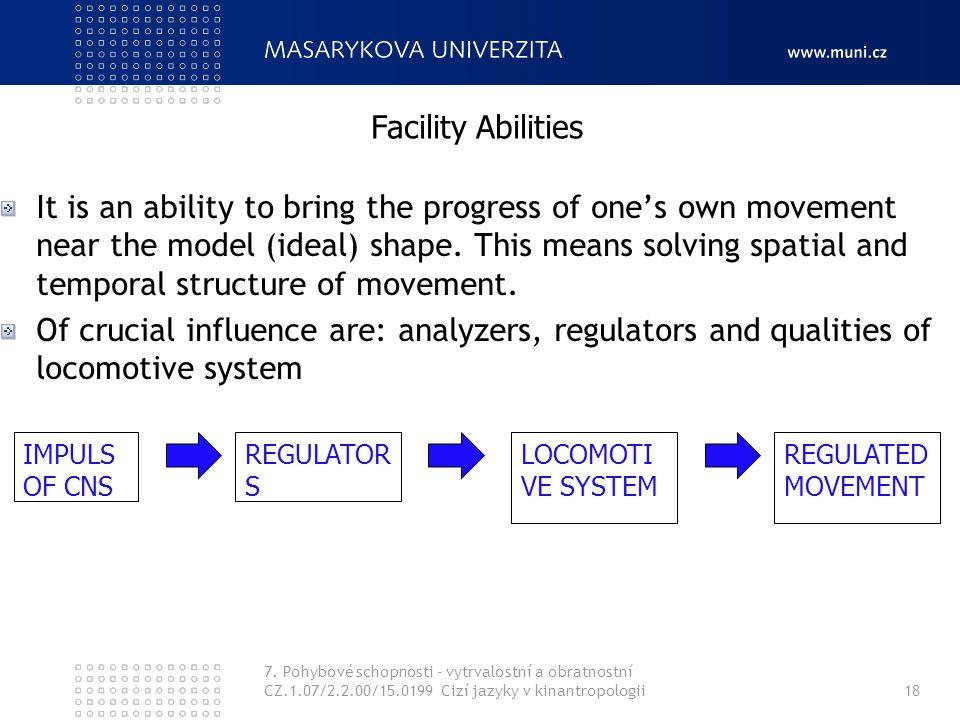 Facility Abilities