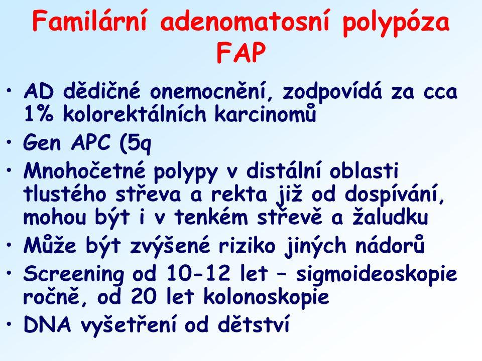 Familární adenomatosní polypóza FAP