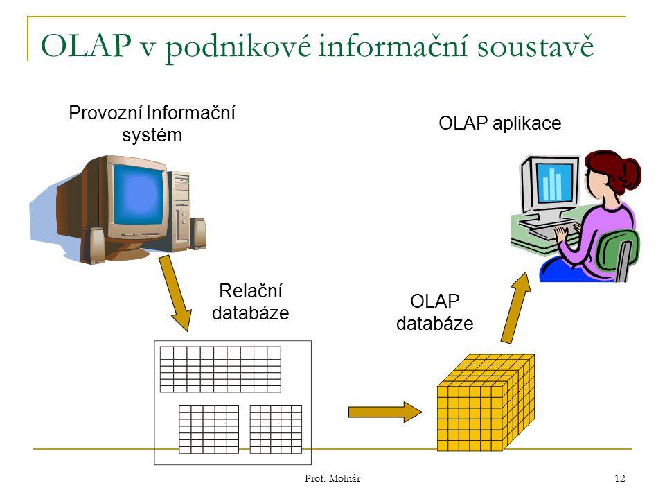 OLAP v podnikové informační soustavě