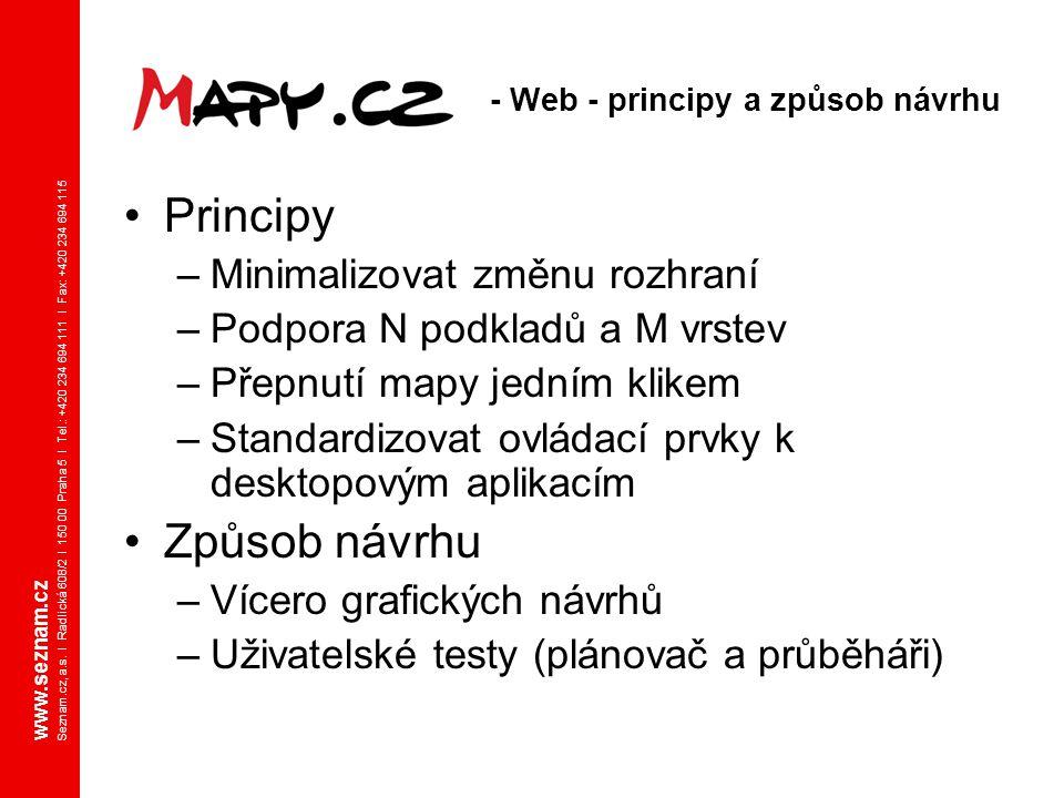 - Web - principy a způsob návrhu