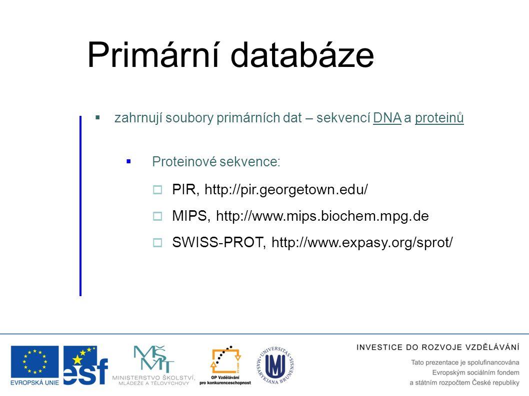 Primární databáze PIR, http://pir.georgetown.edu/