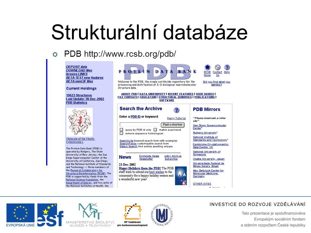 Strukturální databáze