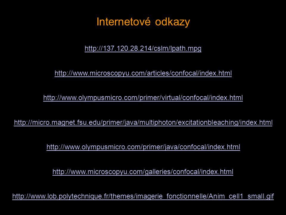 Internetové odkazy http://137.120.28.214/cslm/lpath.mpg