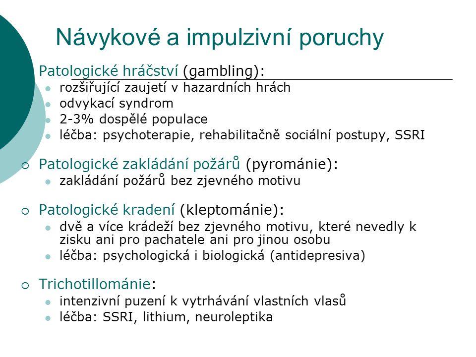 Návykové a impulzivní poruchy