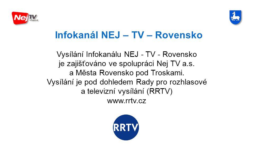 Infokanál NEJ – TV – Rovensko