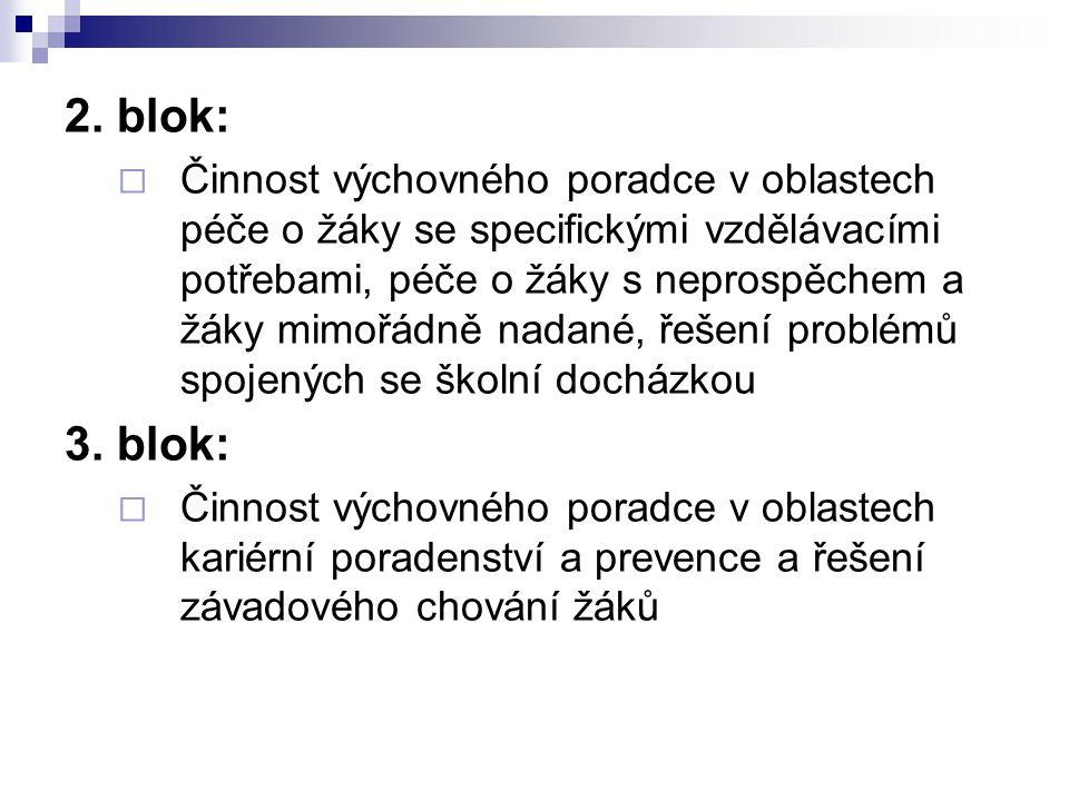 2. blok: