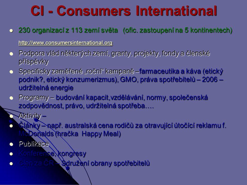 CI - Consumers International