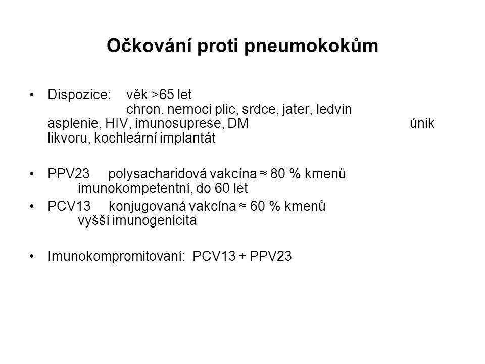 Očkování proti pneumokokům