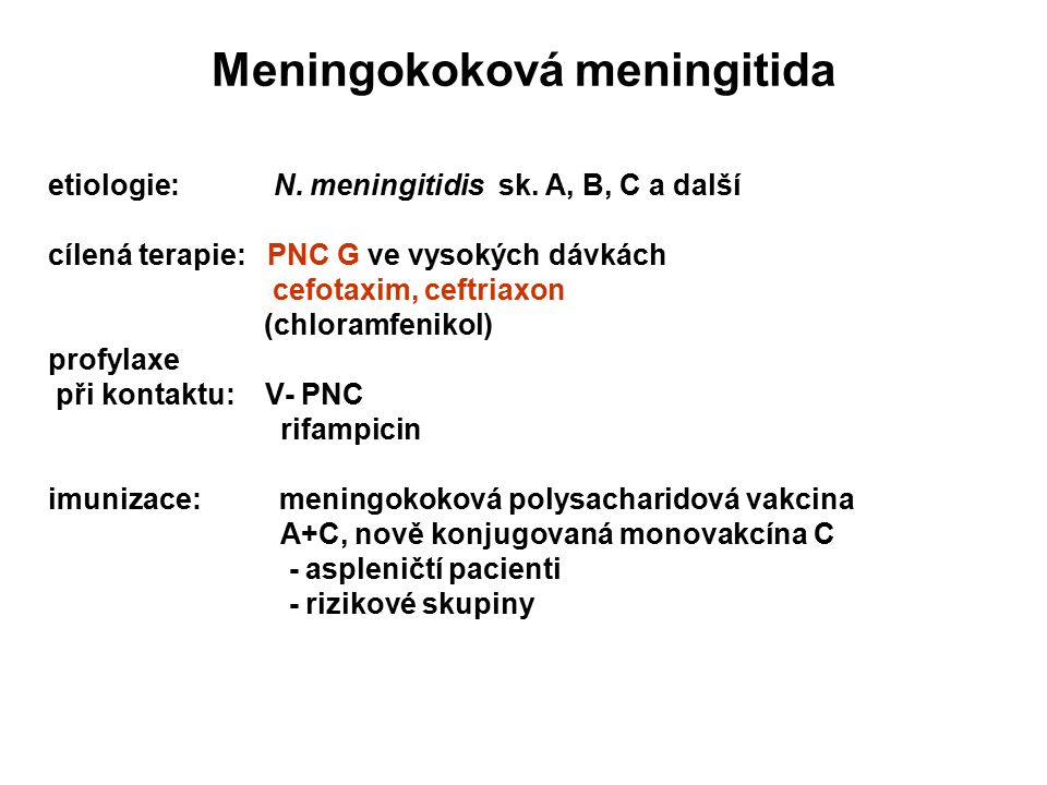 Meningokoková meningitida