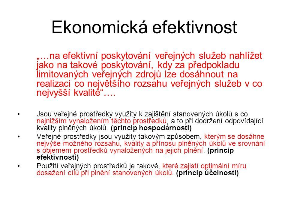 Ekonomická efektivnost