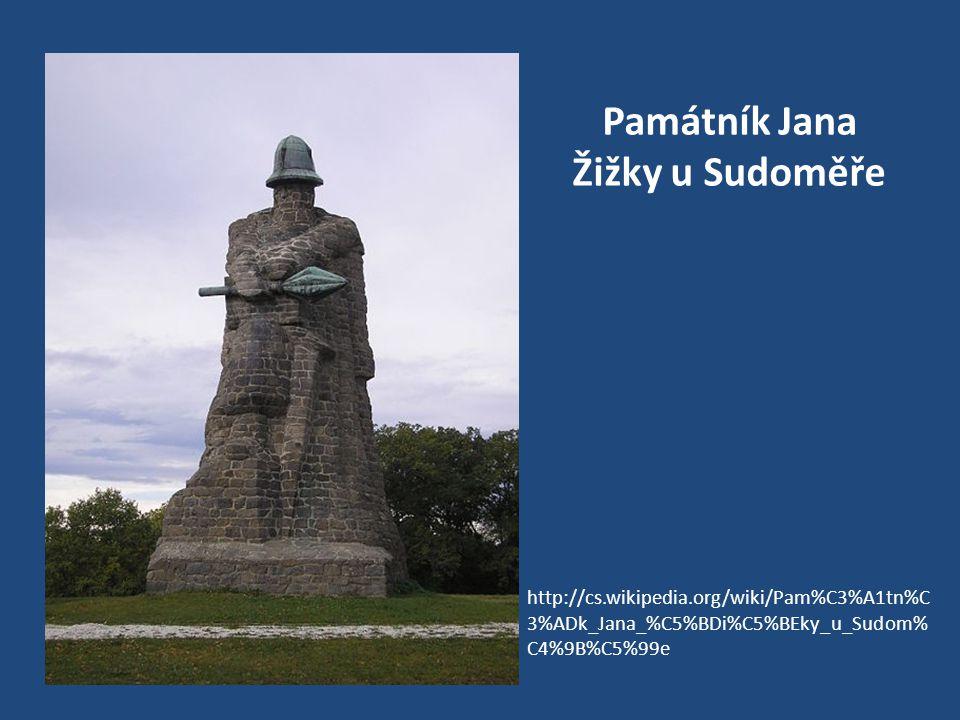 Památník Jana Žižky u Sudoměře