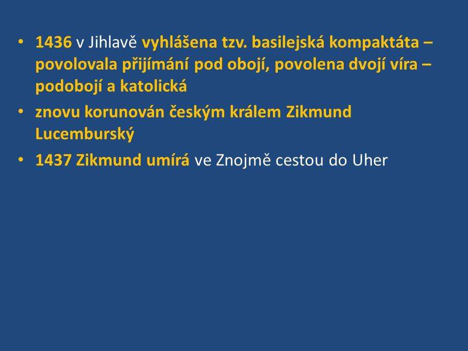 1436 v Jihlavě vyhlášena tzv