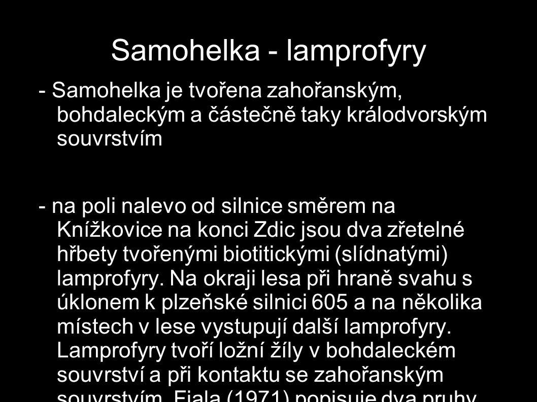 Samohelka - lamprofyry