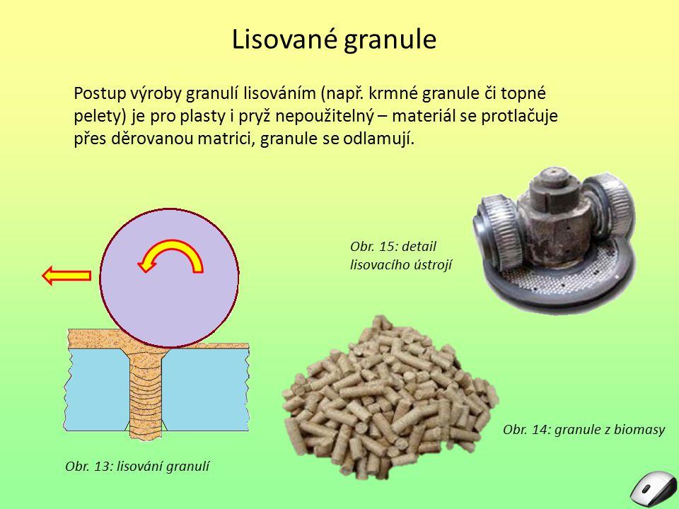 Lisované granule