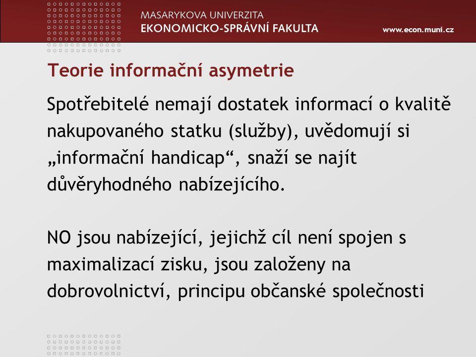 Teorie informační asymetrie