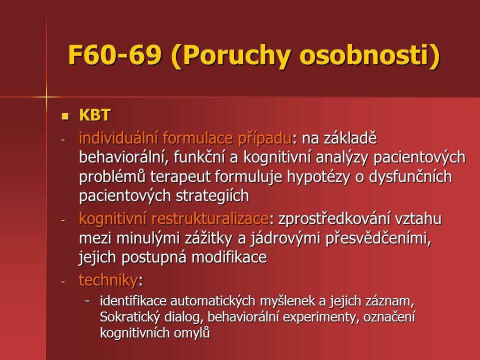 F60-69 (Poruchy osobnosti)