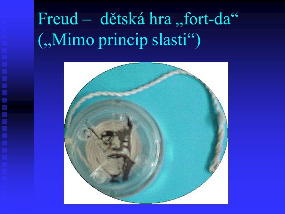 "Freud – dětská hra ""fort-da (""Mimo princip slasti )"