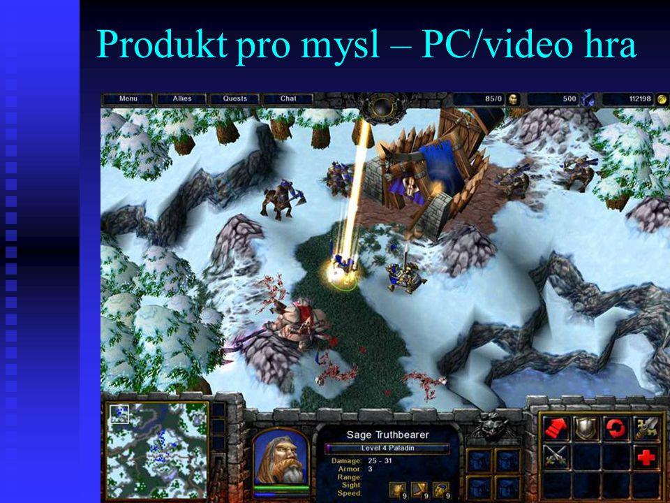 Produkt pro mysl – PC/video hra