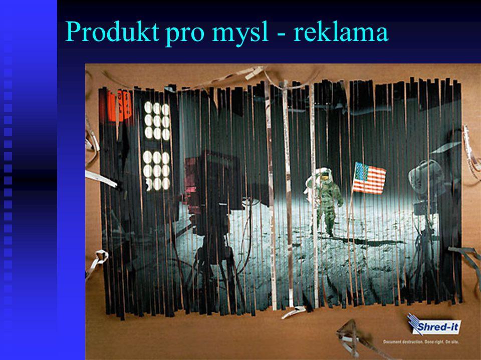 Produkt pro mysl - reklama