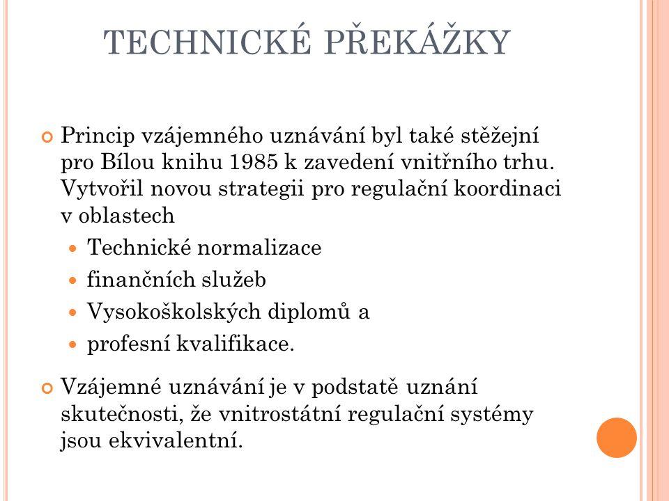 technické překážky