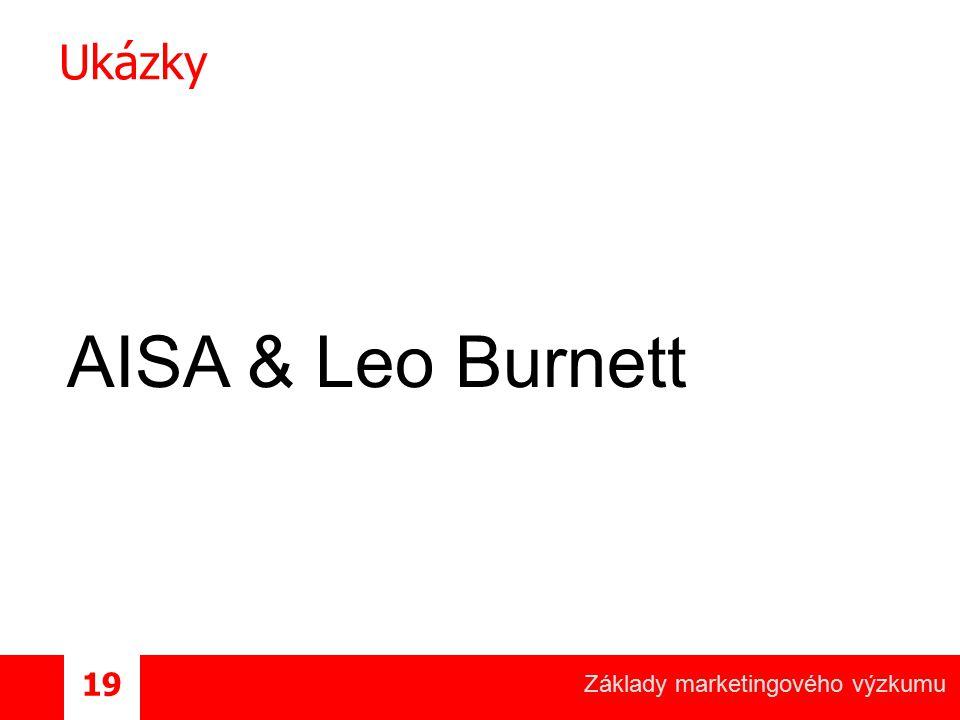 Ukázky AISA & Leo Burnett