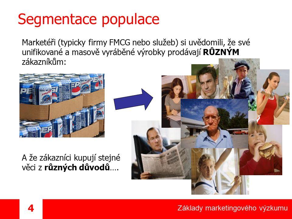 Segmentace populace