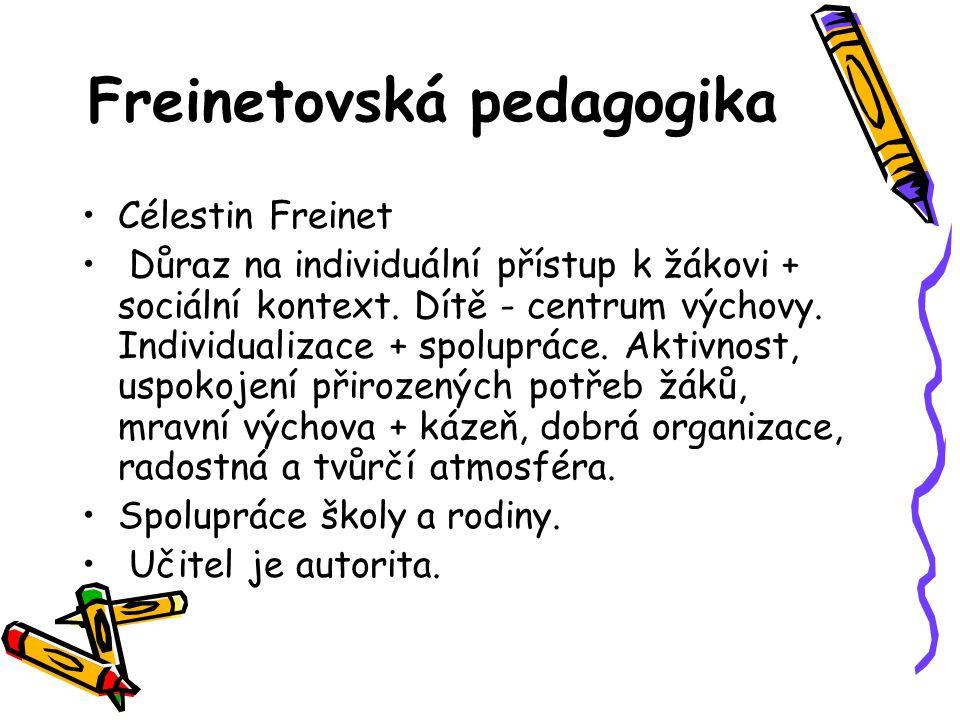 Freinetovská pedagogika