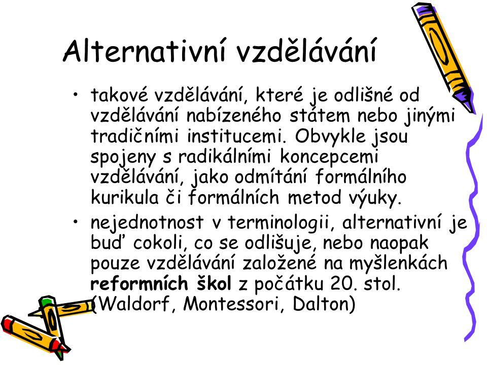 Alternativní vzdělávání